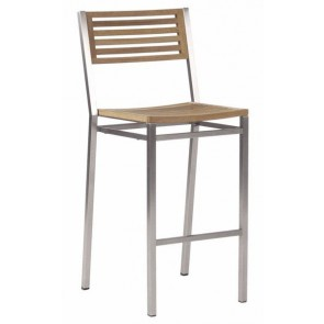 Barlow Tyrie Equinox High Dining Side Chair Teak