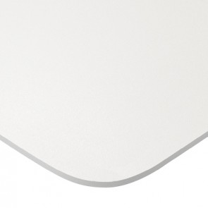 Manutti Air Dining Table - 264  x 118 - (Lava Frame with White Ceramic)