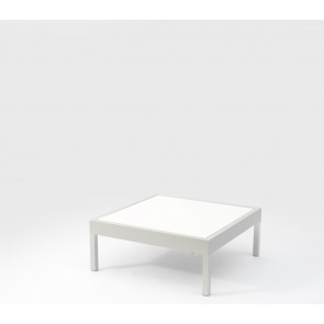 Leoni Outdoor Coffee Table Grey With HPL Top