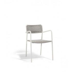 Manutti Echo Armchair - Silver