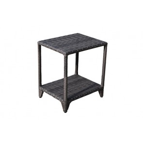 Lisa New Brown Side Table