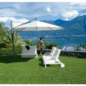 Glatz Sombrano Cantilever Parasol 3.5m Round Including Movable Base