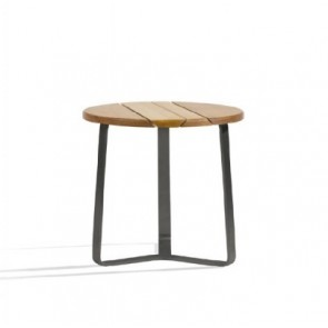 Manutti Outdoor Sidetable With Iroko Top