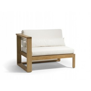 Manutti Siena Teak Lounge Right Seat