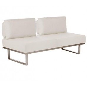 Barlow Tyrie Mercury Deep Seating Sofa Natural