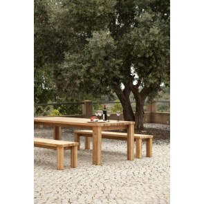 Barlow Tyrie Titan Backless Bench 200cm - Rustic Teak