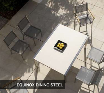 Equinox Dining Steel