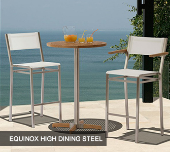 Equinox High Dining Steel