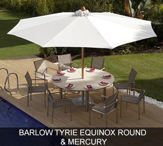 Barlow Tyrie Equinox Round & Mercury