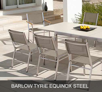 Barlow Tyrie Equinox Steel