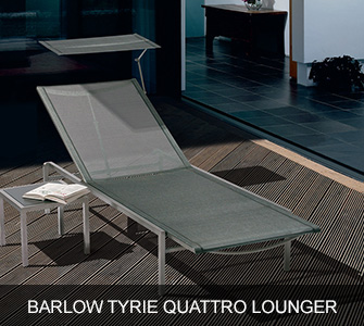 Barlow Tyrie Quattro Lounger