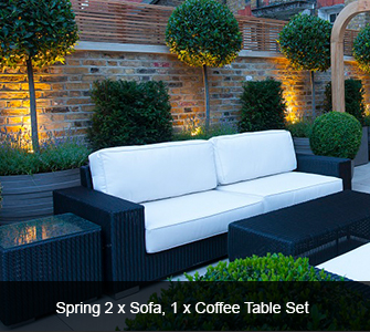 Summerloom Spring Set - 2 Sofas, 1 Coffee Table