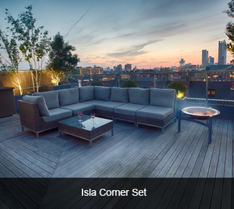 Summerloom Isla Corner Set